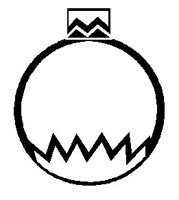Printable Christmas Coloring Page Ornament